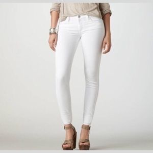 American Eagle Super Stretch Jegging Jeans White 4